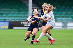 Zoe Harrison of Saracens Ladies in action - Mandatory by-line: Craig Thomas/JMP - 30/09/2017 - RUGBY - Sixways Stadium - Worcester, England - Worcester Valkyries v Saracens Women - Tyrrells Premier 15s