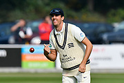 Steven Finn of Middlesex during the Specsavers County Champ Div 1 match between Somerset County Cricket Club and Middlesex County Cricket Club at the Cooper Associates County Ground, Taunton, United Kingdom on 26 September 2017. Photo by Graham Hunt.