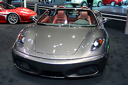 09 February 2006:  Ferrari F430 Spyder convertible.....Chicago Automobile Trade Association, Chicago Auto Show, McCormick Place, Chicago IL