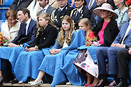 27-4-2016 - ZWOLLE - King Willem-Alexander and Queen Maxima , Princess Amalia , Princess Alexia and Princess Alexia and other members of the Dutch Royal Family attend the festivities of Kings Day in Zwolle<br /> <br /> COPYRIGHT/Royalportraits Europe/BERNARD RUEBSAMEN