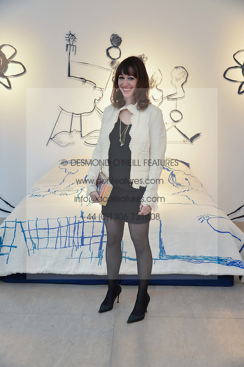 ANNIE MORRIS at a private view of Bright Young Things held at the David Gill Gallery, 2-4 King Street, London on 19th April 2016.