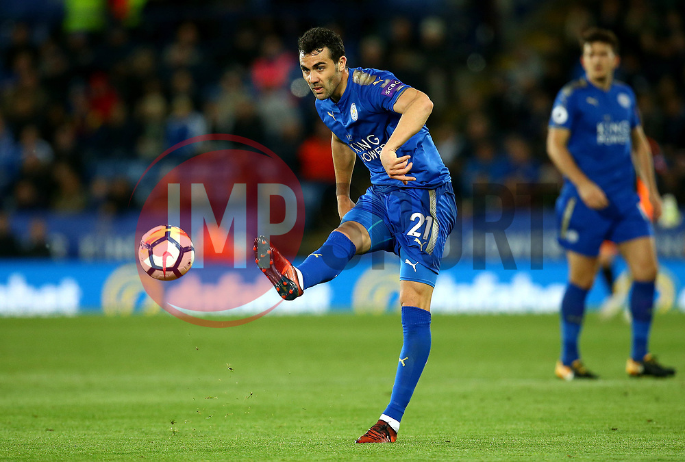 Vicente Iborra of Leicester City - Mandatory by-line: Robbie Stephenson/JMP - 16/10/2017 - FOOTBALL - King Power Stadium - Leicester, England - Leicester City v West Bromwich Albion - Premier League