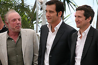 James Caan, Clive Owen, Guillaume Canet,  at the Blood Ties film photocall at the Cannes Film Festival Monday 20th May 2013