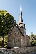 Feiningerkirche Gelmeroda, Weimar, Thüringen, Deutschland   Feininger church, Gelmeroda, Weimar, Thuringia, Germany