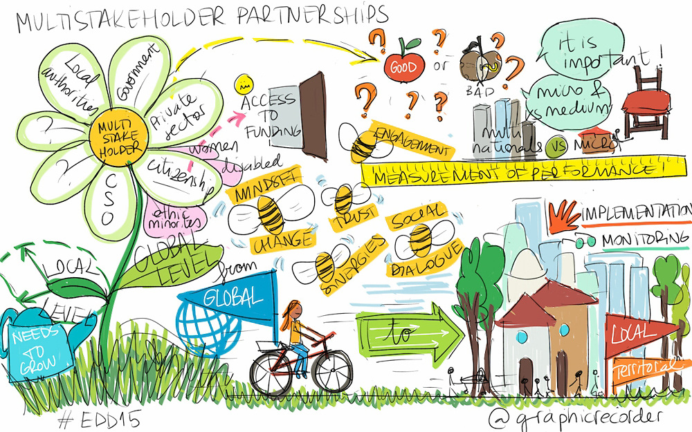 03 June 2015 - Belgium - Brussels - European Development Days - EDD - Energy - Multi-stakeholder partnerships for energy efficiency © European Union