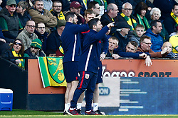 Bristol City head coach Lee Johnson  - Mandatory by-line: Phil Chaplin/JMP - FOOTBALL - Carrow Road - Norwich, England - Norwich City v Bristol City - Sky Bet Championship