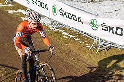 Stan Godrie (NED), Men Under 23, Cyclo-cross World Championships Tabor, Czech Republic, 1 February 2015, Photo by Pim Nijland / PelotonPhotos.com