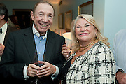 DAVID MARTIN ABRAHAMS; CARMEL GREENWOOD, Party Planning and Etiquette. Liz Brewer book launch,. Dukes hotel. St. James's. London. 10 June 2011. <br /> <br />  , -DO NOT ARCHIVE-© Copyright Photograph by Dafydd Jones. 248 Clapham Rd. London SW9 0PZ. Tel 0207 820 0771. www.dafjones.com.