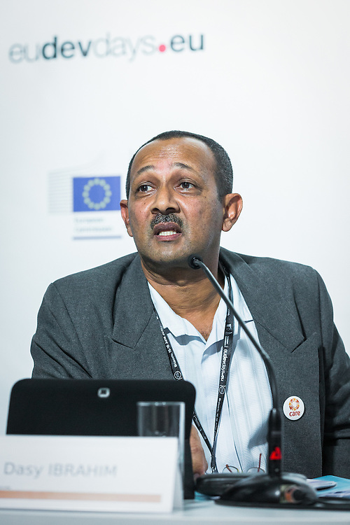 20160615 - Brussels , Belgium - 2016 June 15th - European Development Days - Support to civil society organisations working in the field of human rights in Iraq - Dasy Ibrahim MAHAFATOKY Project Manager, Care International, in Madagascar © European Union