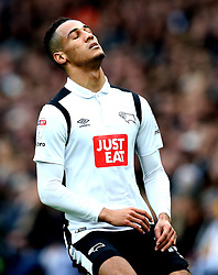Thomas Ince of Derby County looks frustrated - Mandatory by-line: Robbie Stephenson/JMP - 11/12/2016 - FOOTBALL - iPro Stadium - Derby, England - Derby County v Nottingham Forest - Sky Bet Championship