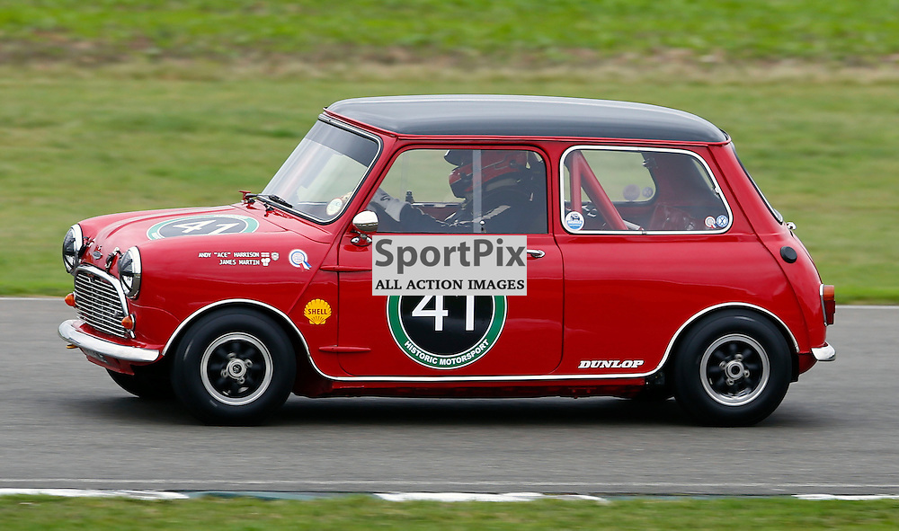 GOODWOOD REVIVAL......James Martin in a 1963 Austin Mini Cooper S competing in the St. Mary's Trophy race part 1...(c) STEPHEN LAWSON   SportPix.org.uk