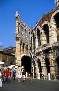 Former gladiator arena in Verona, Italy