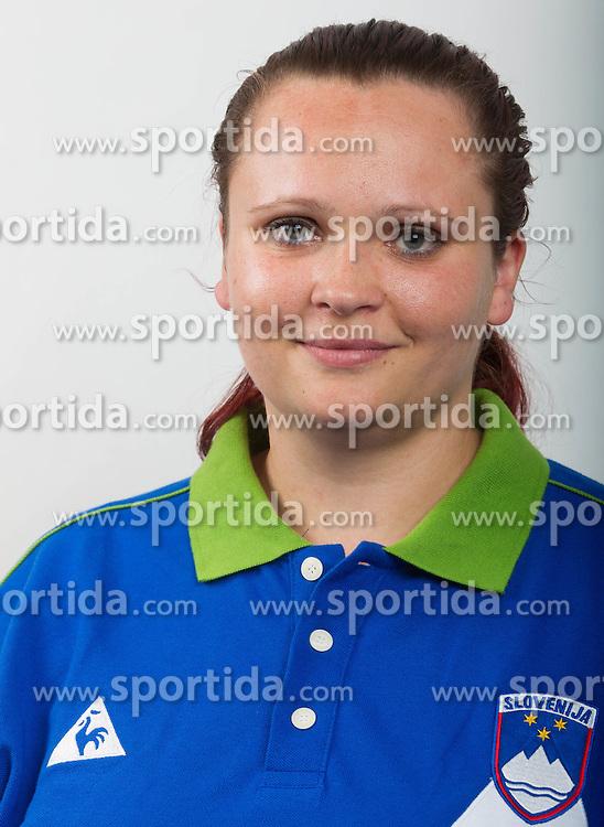 Jasmina Zbil of Slovenian Paralympic team for London 2012 on June 20, 2012 in Ljubljana, Slovenia. (Photo by Vid Ponikvar / Sportida.com)
