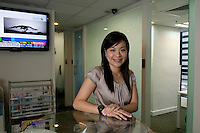 Josephine Lo, owner and founder of Centre O, a business centre in Hong Kong.