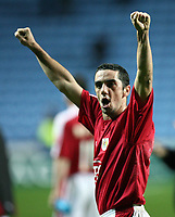 Photo: Rich Eaton.<br /> <br /> Coventry City v Bristol City. The FA Cup. 16/01/2007. Scott Murray of Bristol celebrates after the game which Bristol win 2-0