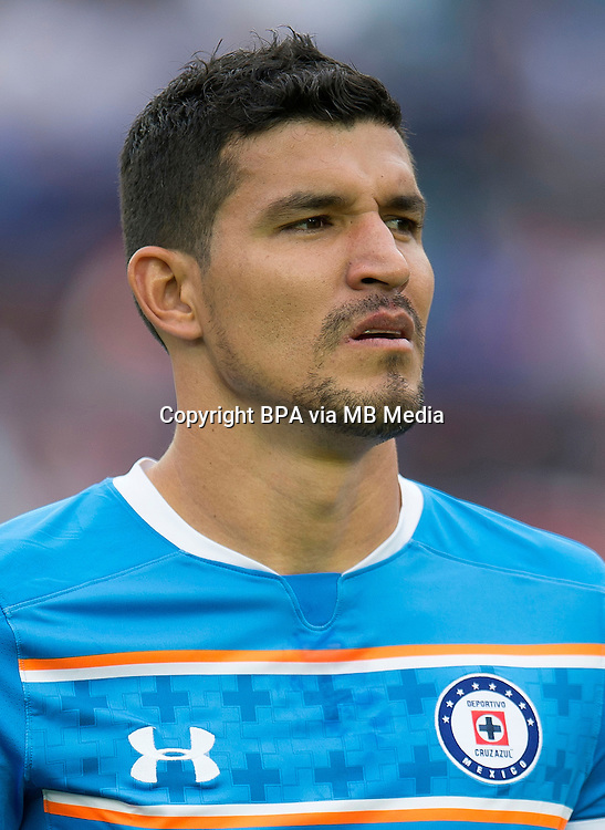 Mexico League - BBVA Bancomer MX 2015-2016 - <br /> La Maquina - Cruz Azul Fc / Mexico - <br /> Francisco Javier Rodriguez Pinedo