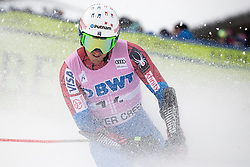 03.12.2017, Beaver Creek, USA, FIS Weltcup Ski Alpin, Beaver Creek, Riesenslalom, Herren, 2. Lauf, im Bild Ted Ligety (USA) // Ted Ligety of the USA reacts after his 2nd run of men's Giant Slalom of FIS ski alpine world cup in Beaver Creek, United Staates on 2017/12/03. EXPA Pictures © 2017, PhotoCredit: EXPA/ Johann Groder