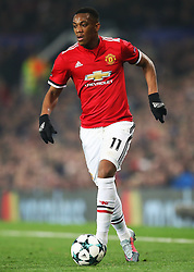 Anthony Martial of Manchester United - Mandatory by-line: Matt McNulty/JMP - 31/10/2017 - FOOTBALL - Old Trafford - Manchester, England - Manchester United v Benfica - UEFA Champions League Group A