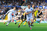 Leeds United midfielder Kalvin Phillips (23) during the EFL Sky Bet Championship match between Leeds United and Burton Albion at Elland Road, Leeds, England on 9 September 2017. Photo by Richard Holmes.