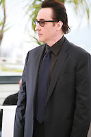 Actor John Cusack at the photo call for the film Maps To The Stars at the 67th Cannes Film Festival, Monday 19th May 2014, Cannes, France.
