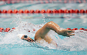 Moss Burmester competes in the Men's 200m Freestyle heat at the New Zealand Swimming World Championship Trials at the West Aquatic Centre, Auckland, New Zealand, on Tuesday 12 December 2006. Photo: Hannah Johnston/PHOTOSPORT<br /><br /><br />121206