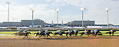 The Derby Race from the Backstretch