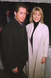 VISCOUNT & VISCOUNTESS LINLEY at a party in London on 18th February 1999.MOM 45