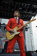 OK Go performing at The Bamboozle in East Rutherford, New Jersey. May 2, 2010. Copyright © 2010 Matt Eisman. All Rights Reserved.