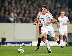23.10.2012, Grand Stade Lille Metropole, Lille, OSC Lille vs FC Bayern Muenchen, im Bild Javier MARTINEZ (FC Bayern Muenchen - 8) Freisteller // during UEFA Championsleague Match between Lille OSC and FC Bayern Munich at the Grand Stade Lille Metropole, Lille, France on 2012/10/23. EXPA Pictures © 2012, PhotoCredit: EXPA/ Eibner/ Gerry Schmit..***** ATTENTION - OUT OF GER *****