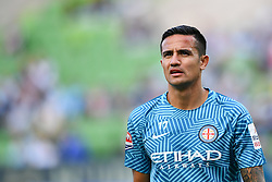 December 17, 2016 - Melbourne, Victoria, Australia - TIMOTHY CAHILL (17) of Melbourne City warming up prior to the round 11 match of the A-League between Melbourne City and Melbourne Victory at AAMI Park, Melbourne, Australia. Victory won 2-1 (Credit Image: © Sydney Low via ZUMA Wire)