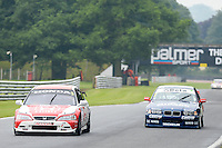 #3 James Dodd - Honda Accord #7 Paul Smith - BMW during HSCC Super Touring Car Championship qualifying at Oulton Park, Little Budworth, Cheshire, United Kingdom. June 07 2014. World Copyright Peter Taylor/PSP. Copy of publication required for printed pictures.  Every used picture is fee-liable. http://archive.petertaylor-photographic.co.uk