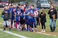 Goshen, New York  - Goshen played Spackenkill in a high school football game at Oscar W. Gustafson field on Oct. 17, 2015.