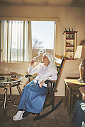 EXCLUSIVE<br /> A DAY IN THE LIFE OF TWO FEMINIST, CANNABIS-GROWING NUNS<br /> <br /> They are exactly who they present themselves to be,&rdquo; say photographers Shaughn Crawford and John DuBois of the Sister of the Valley two nuns who grow and sell cannabis products from their home in Merced, California.<br /> <br /> Sister Kate and younger apprentice Sister Darcy take great pride in their work, and they welcomed the photographers into the fray with generous and open spirits. DuBois describes the Sisters as &ldquo;self-ordained;&rdquo; in other words, they are not members of the Catholic order but live within a holy world all their own.<br /> As deeply spiritual women with the intention to heal the sick, they harvest their marijuana plants according to the cycles and positions of the moon, and until recently, when their account was shut down, they sold their salves and remedies on Etsy. The process includes special rites and rituals, including the burning of sage, and every shipment is blessed with a prayer.<br /> The products they sell are medicinal do not make their clients &ldquo;high.&rdquo; With their concoctions, they treat anything from diaper rash to seizures. They are politically active and engaged with the community&mdash; they support Bernie Sanders and decry Donald Trump&mdash;and more than anything, they&rsquo;re on a mission to help people in pain.<br /> <br />  the tale of two complex, daring women who have turned their own personal brand of piety into a thriving business run by strong-minded women.<br /> &copy;Shaughn Crawford and John DuBois/ Exclusivepix Media