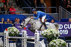 Ahlmann Christian, GER, Clintrexo Z<br /> Final Round 2<br /> Longines FEI World Cup Finals Jumping Gothenburg 2019