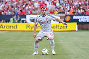 Liverpool Xherdan Shaqiri during the Manchester United and Liverpool International Champions Cup match at the Michigan Stadium, Ann Arbor, United States on 28 July 2018.