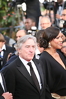 Robert De Niro, Grace Hightower  at the gala screening Madagascar 3: Europe's Most Wanted at the 65th Cannes Film Festival. On Friday 18th May 2012 in Cannes Film Festival, France.
