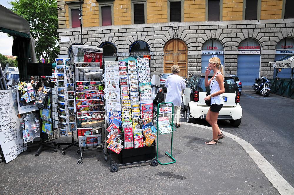 Rome, Italy Souvenir Shop