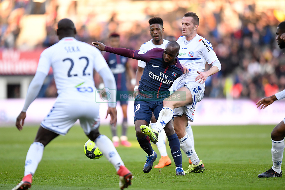 February 17, 2018 - Paris, France - 19 LASSANA DIARRA (psg) - 11 Dimitri LIENARD  (Credit Image: © Panoramic via ZUMA Press)