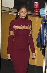 Nicole Scherzinger im heissen Kleid vor den Fountain Studios in London / 051116<br /> <br /> ***Nicole Scherzinger X Factor Judges at Fountain Studios 5th Nov 2016, London, UK***