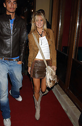 MISS MARISSA MONTGOMERY at a party to celebrate the opening of Ishtar - a new mediterainian restaurant in Crawford Street, London W1 on 15th September 2004.<br /><br />NON EXCLUSIVE - WORLD RIGHTS
