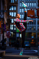Dance As Art New York City Photography Project SoHo Series with dancer, Daniel White