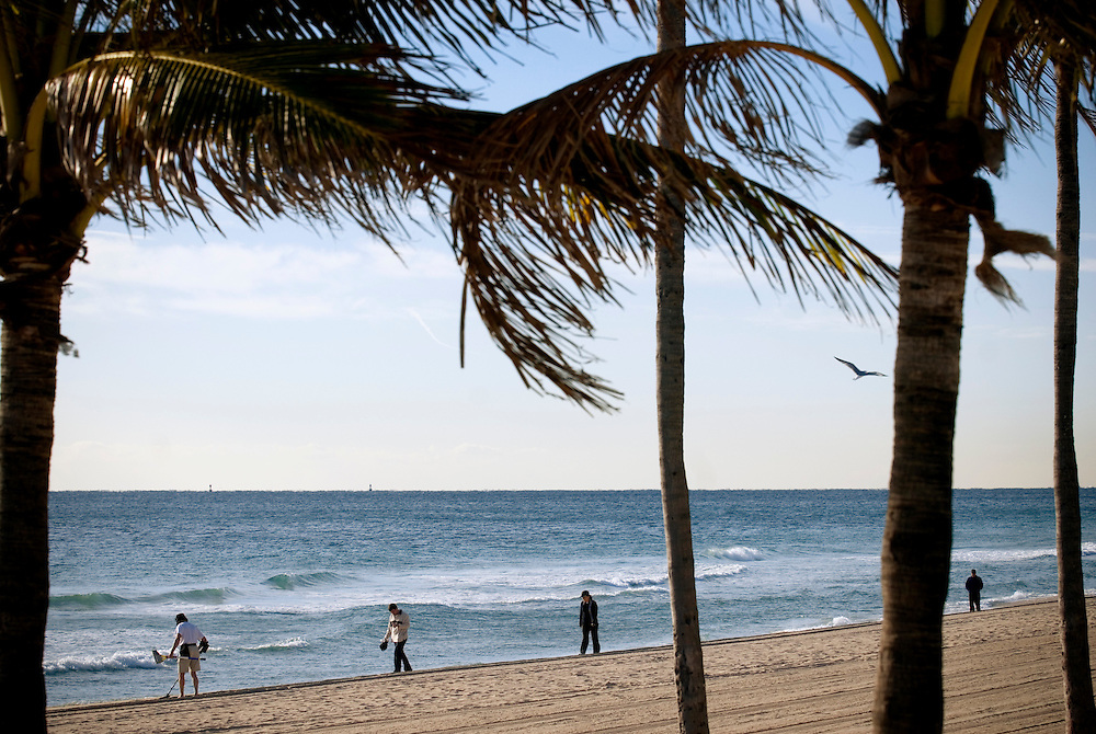 Travel story about Fort Lauderdale, Florida.Beach..Photographer: Chris Maluszynski /MOMENT