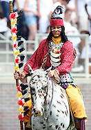 Osceola and Renegade are the 12th player for FSU.  USF defeated No. 18 FSU 17-7, Saturday, 26 Sep 09, at Doak Campbell Stadium in front of 12,000 fans. First meeting between the schools and was viewed by FSU's biggest home crowd in four years.
