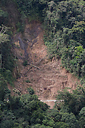 Unstable soils and landslides are one of the biggest problems for the engineers of the Interoceanic Highway, especially in the rainy season