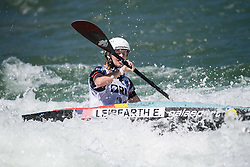 Evy LEIBFARTH of United States of America during the Canoe Single (WK1) Womens Final race of 2019 ICF Canoe Slalom World Cup 4, on June 28, 2019 in Tacen, Ljubljana, Slovenia. Photo by Sasa Pahic Szabo / Sportida