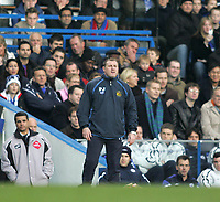 Photo: Lee Earle.<br /> Chelsea v Wigan Athletic. The Barclays Premiership.<br /> 10/12/2005. Wigan boss Paul Jewell.