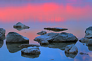 Sunset on Berford Lake<br /> Bruce Peninsula<br /> <br /> Canada