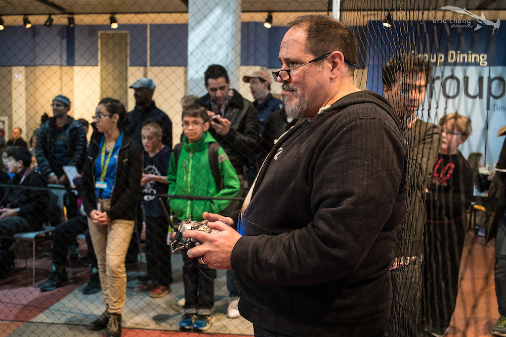 Steve Cohen. Day of Drones at Liberty Science Center. New York City Drone Film Festival 2016.