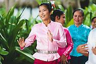 traditional thai dance music singing koh phi phi don lei thailand