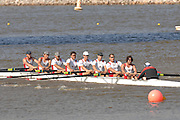 Oklahoma, USA,   Sunday Morning,  Men's Championship Eights,  CAN M8+,  Canada's men's crew, competing in the Head of the Oklahoma The Oklahoma River, Oklahoma City,  Sat. 14/10/2007 [Mandatory Credit. Peter Spurrier/Intersport Images]..... , Rowing Course: Oklahoma River, Oklahoma City, Oklahoma, USA